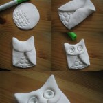 Ceramic Slab Owl